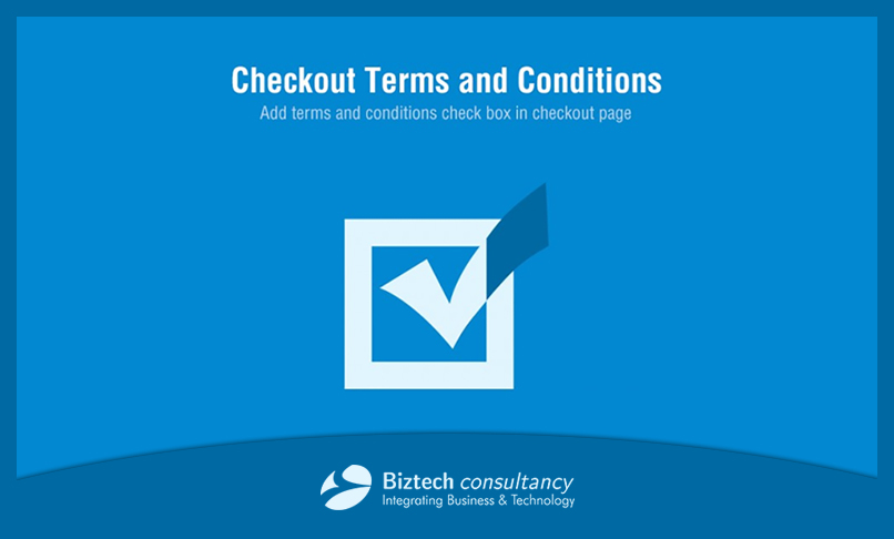 Avail An Odoo Checkout Terms & Conditions App and Say A Big No To Sale Disputes!