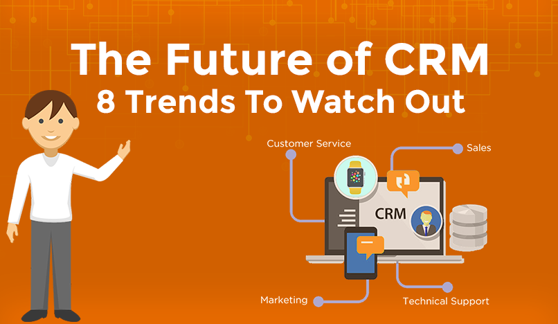 The Future of CRM: 8 Trends To Watch Out [Infographic]
