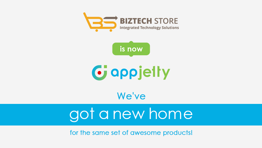 Biztech Store is Now AppJetty!