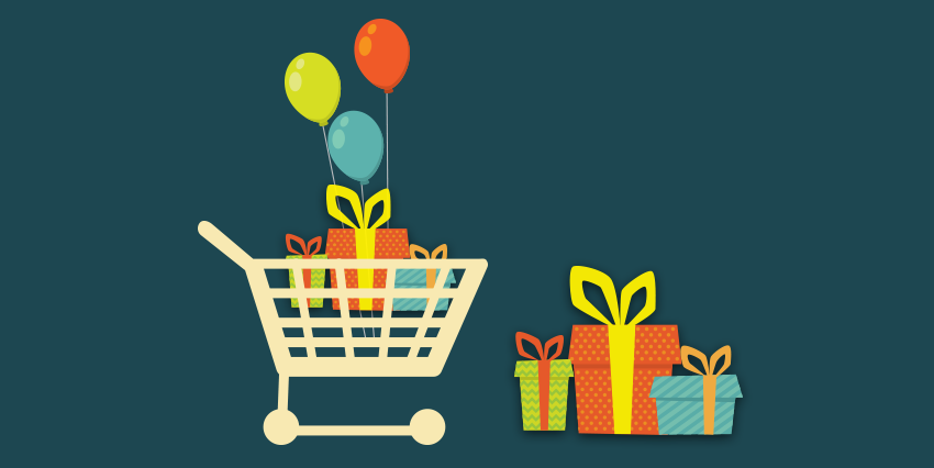 Gift Promotions on Cart Total