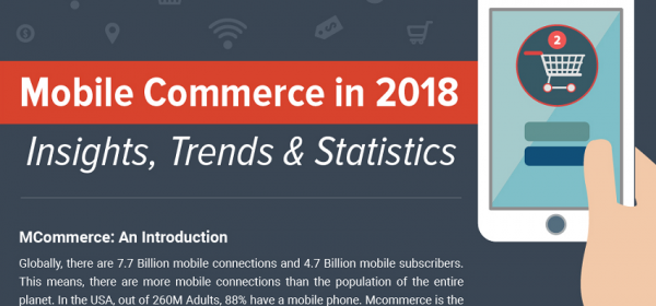 Mobile Commerce in 2018: Insights, Trends & Statistics [Infographic]
