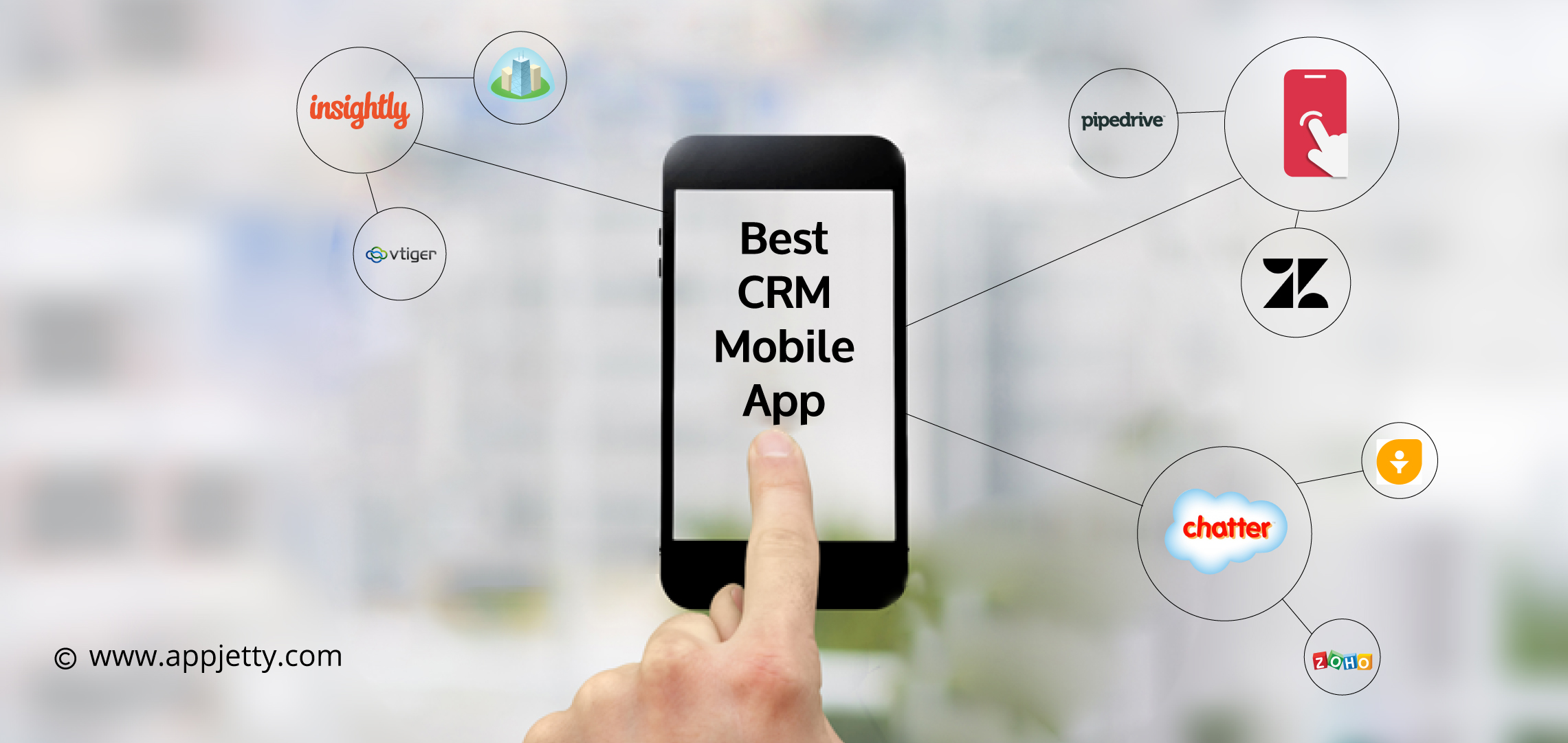 9 Best CRM Mobile Apps to Declutter Your Communication   2019