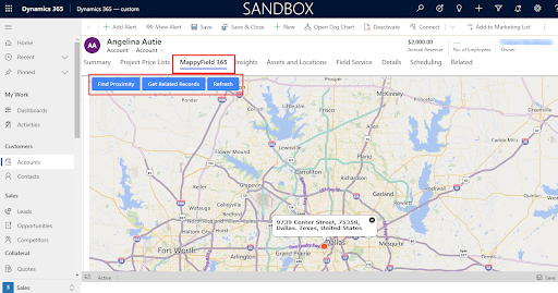 Proximity Search and Get Related Records