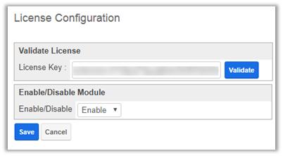 License Configuration