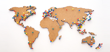 How to Customize the Push Pins for Entity Records to Visualize on the Map