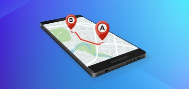 Find the direction between the customers on the go using the Route Search feature in Dynamics 365 CRM