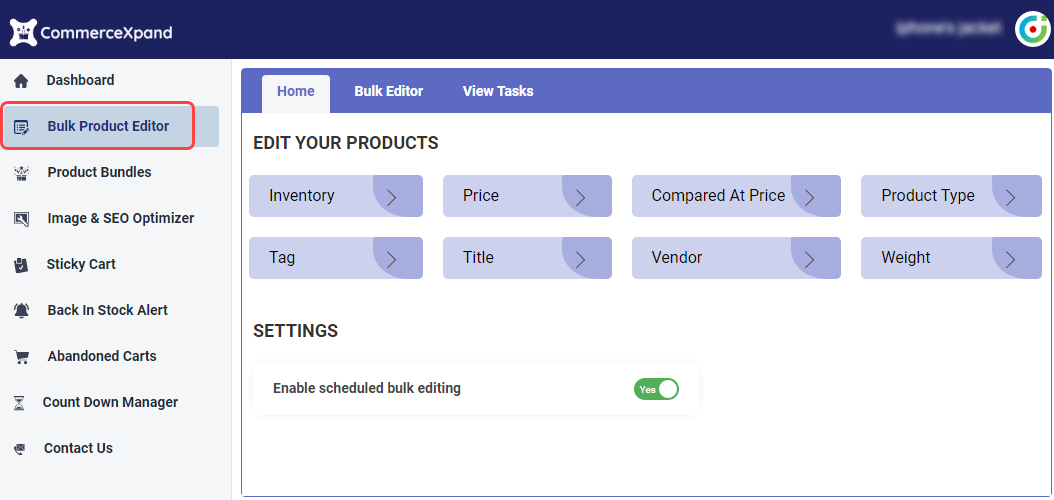 Bulk Product Editor Shopify App-1