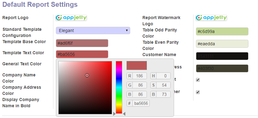 Manage Text Color