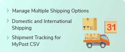 Australia MyPost Shipping For WooCommerce