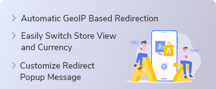 Magento 2 Geolocation Redirect