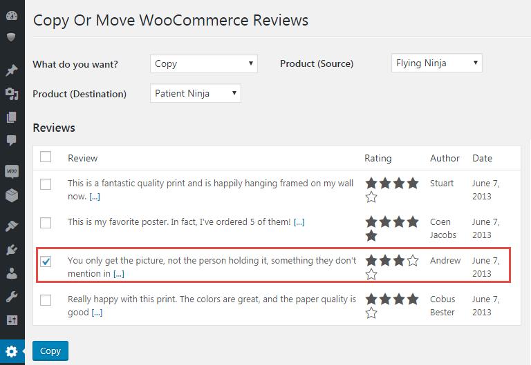 Select Reviews
