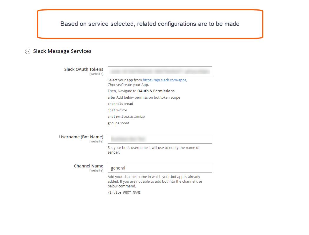 Slack Service