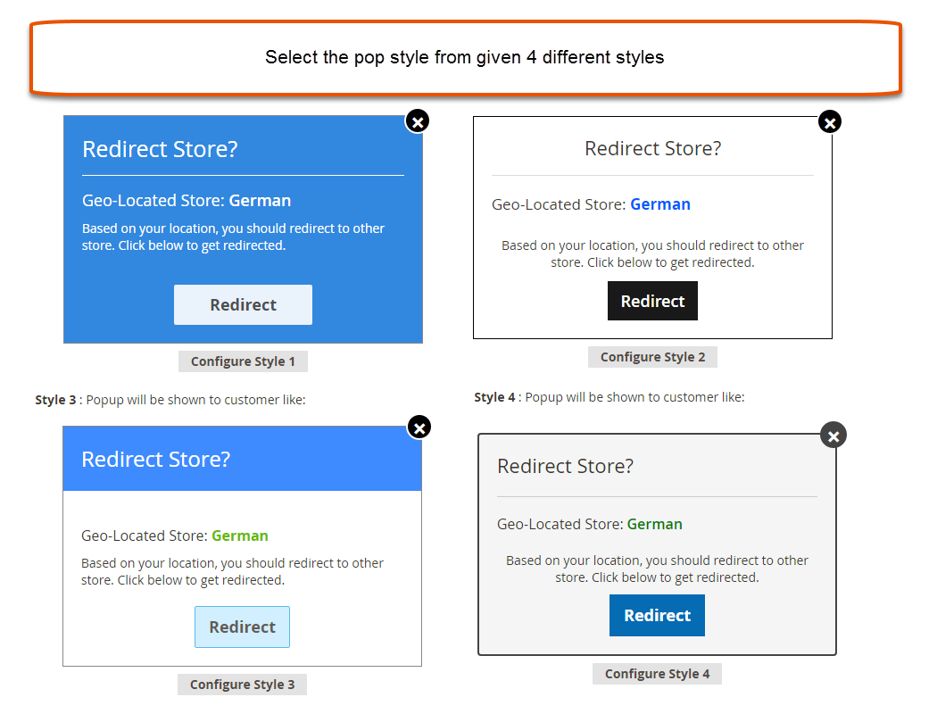 Interactive and User-Friendly Redirect