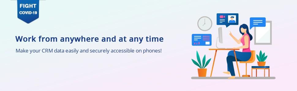 TapCRM - Mobile CRM App For SuiteCRM banner