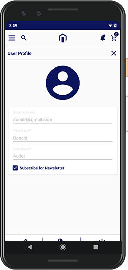 User Profile Management