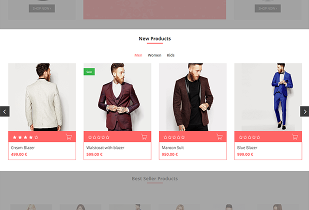 Flipping Product Display Image