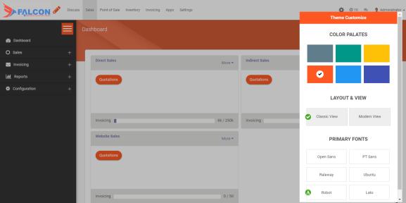 Theme Customization Possibilities