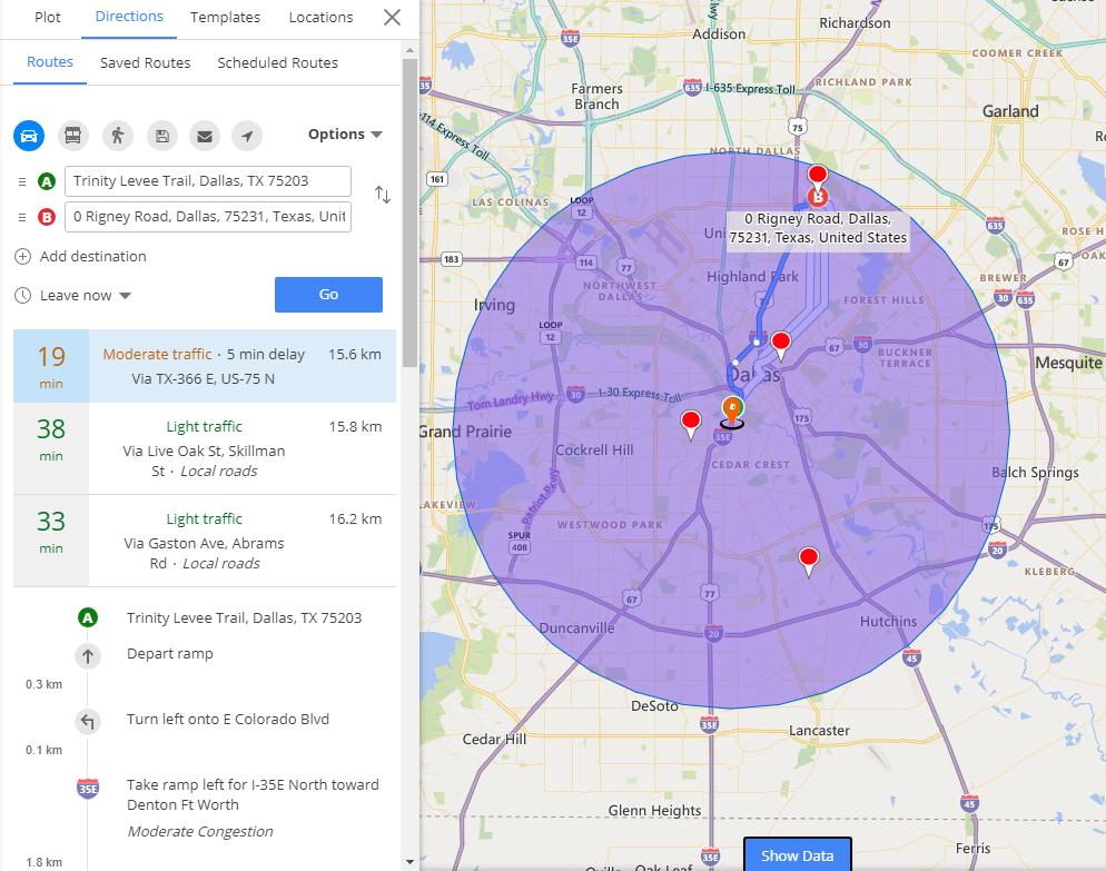 dynamics crm map integration